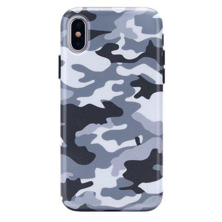 Gray Camo iPhone Case – VelvetCaviar.com