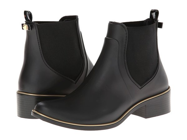 Kate Spade New York - Sedgewick (Black Matte Rubber) Women's Pull-on Boots