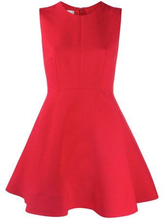 Valentino Flared Mini Dress - Farfetch