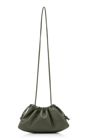 Mini Leather Drawstring Bag By Studio Amelia | Moda Operandi