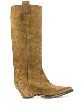 Maison Margiela Western 70mm Boots - Farfetch