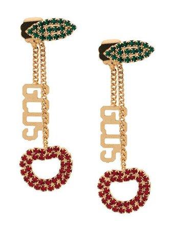 Gcds Cherry Drop Earrings - Farfetch