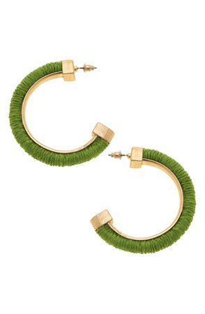 Canvas Jewelry Felicity Hoop Earrings | Nordstrom