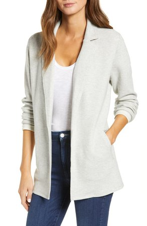 Caslon® Knit Blazer (Regular & Petite)   Nordstrom