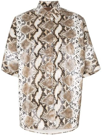 pushBUTTON python-print shirt