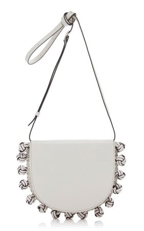 Heel Knots Leather Crossbody Bag By Loewe | Moda Operandi