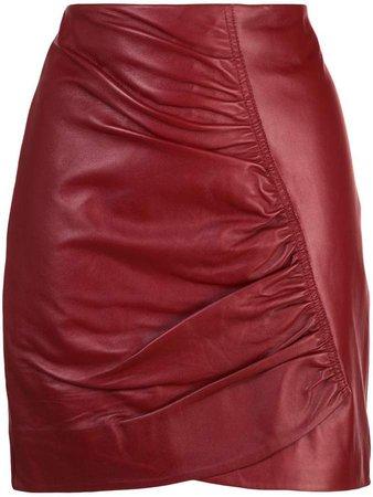 Studio Taylor ruched short skirt