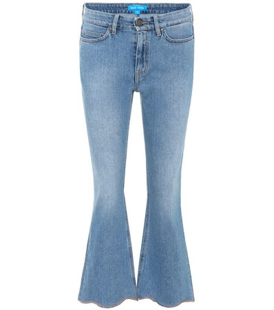 Marty high-rise flared jeans