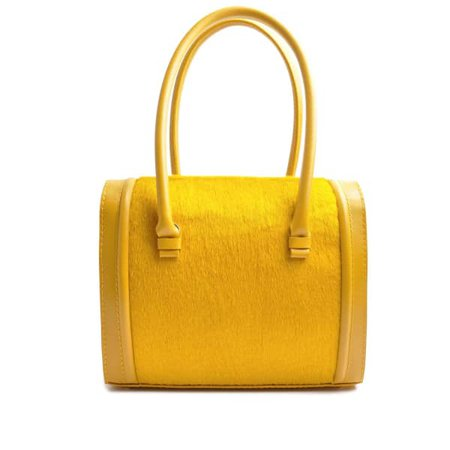 Case Tote In Senape Yellow | OSTWALD Finest Couture Bags | Wolf & Badger