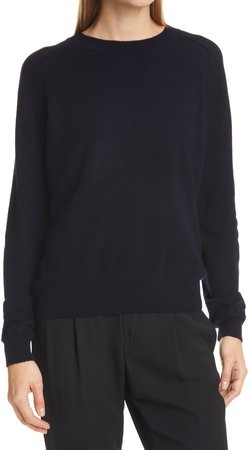 Crewneck Wool & Cashmere Sweater
