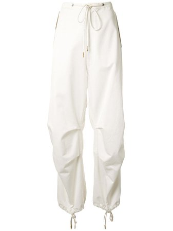 Dion Lee Drawstring Parachute Pants - Farfetch