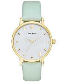 Kate Spade Mint Watch - Pinterest