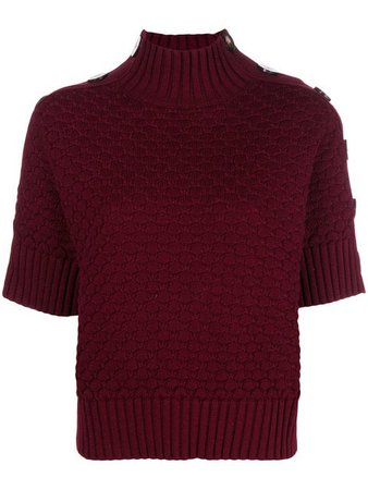 See by Chloé Half Sleeve Knit Jumper