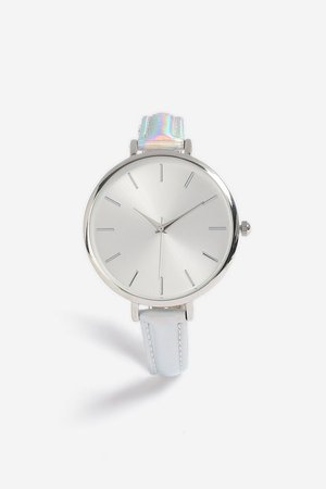 Holographic Strap Watch £25.00  topshop
