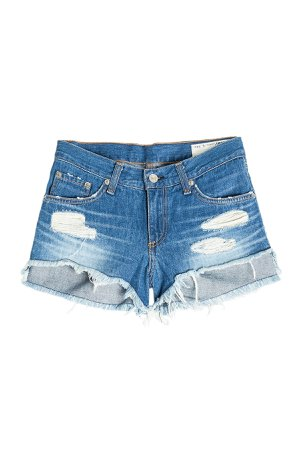 Distressed Jean Shorts Gr. 27