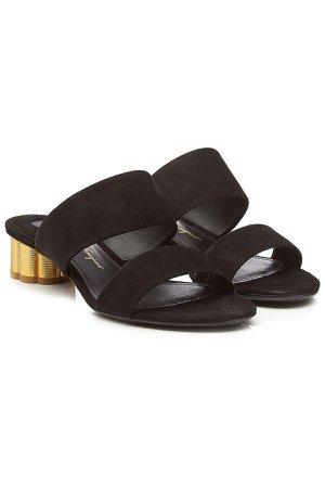 Suede Sandals Gr. US 6.5