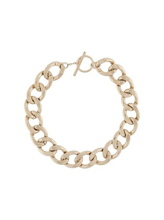 Saint Laurent Chunky chain-link Necklace - Farfetch