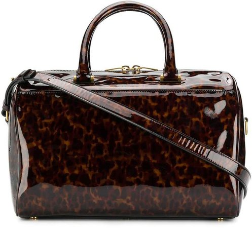 Tortoiseshell Duffle Bag