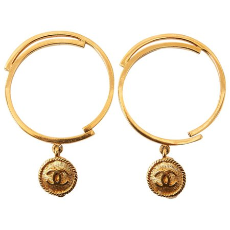 Chanel Earrings in Gold plated