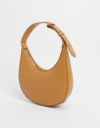 Mango shoulder bag in tan | ASOS
