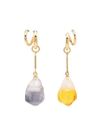 Panconesi Gold Vermeil Pearl Earrings - Farfetch