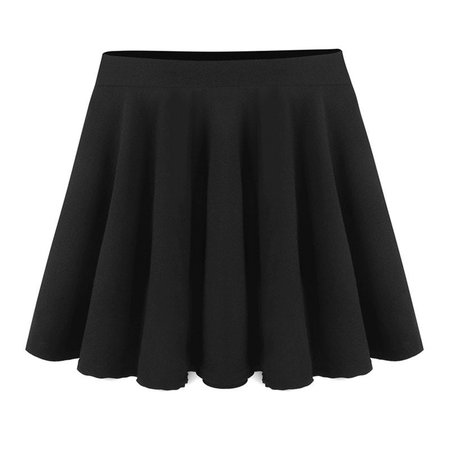 2019 Women Elastic High Waist Sexy Big Swing Skater Umbrella Skirts | Rosegal.com