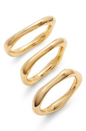 gorjana Quinn Set of 3 Rings | Nordstrom