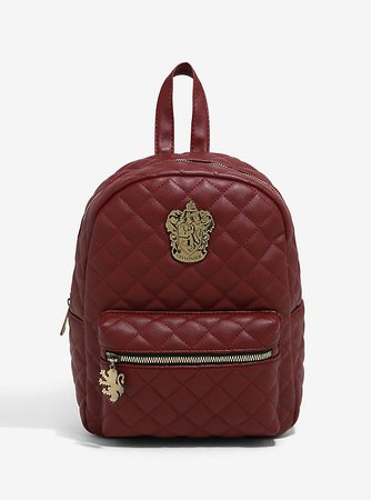 Harry Potter Gryffindor Quilted Mini Backpack