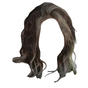 Dark Brown Hair BLACK Png Blonde Bangs