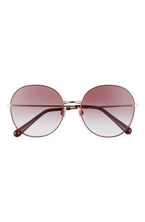 Dolce&Gabbana 56mm Round Sunglasses | Nordstrom