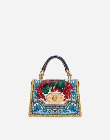 Calfskin Welcome Shoulder Bag - Women's | Dolce&Gabbana