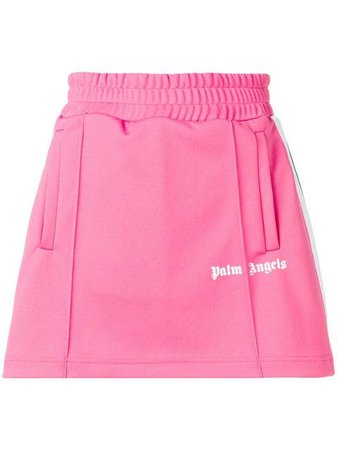 Palm Angels side stripe track skirt $258 - Buy SS19 Online - Fast Global Delivery, Price