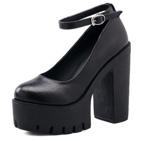 Spring Autumn Casual High-heel Shoes
