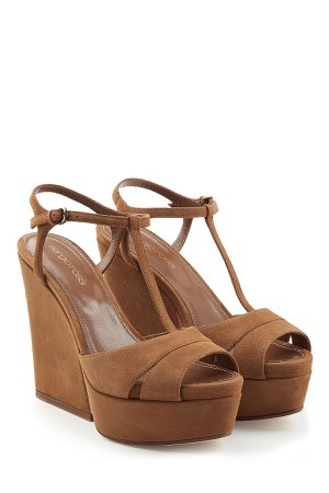 Suede Wedge Sandals Gr. IT 37