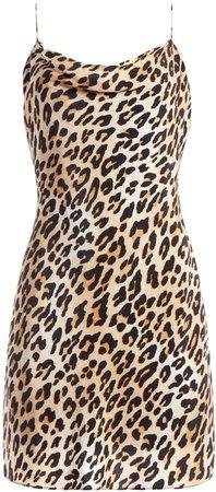 Harmony Leopard Mini Dress