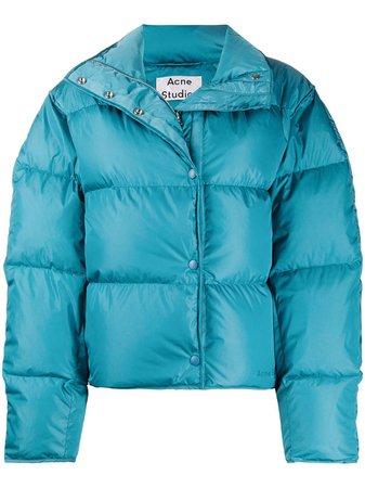 Acne Studios Short Puffer Jacket - Farfetch