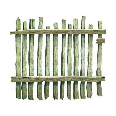 green wood fence png filler mood board