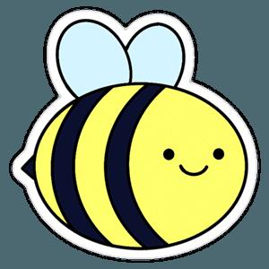 Adventure Time - Bee - Sticker Mania