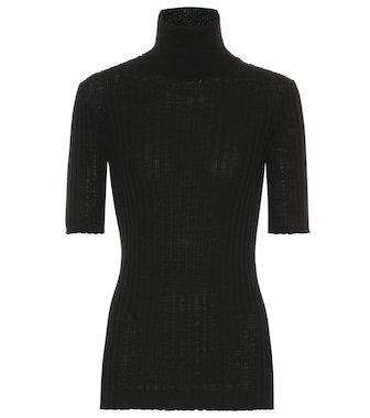 Gucci - GG striped wool and silk pants | Mytheresa