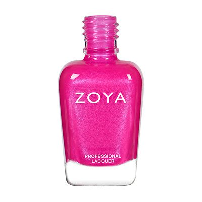 Hot-Pink Nail Polish (Zoya)