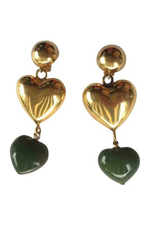 Moschino Earrings Heart 1