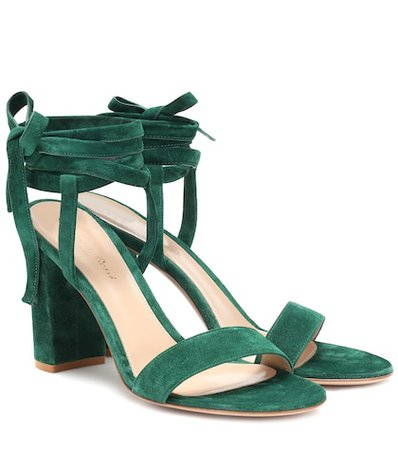 Exclusive to Mytheresa – Gaia 85 suede sandals
