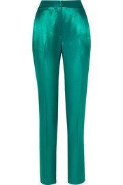 Balenciaga | Satin track pants | NET-A-PORTER.COM