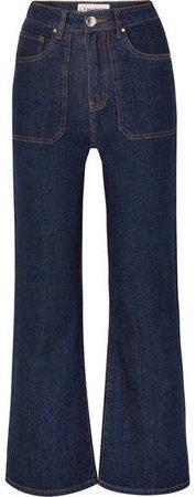 L.F.Markey - Jimbo High-rise Wide-leg Jeans - Indigo