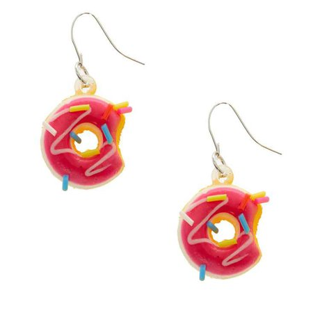Squishy Donut Earrings | Claire's US