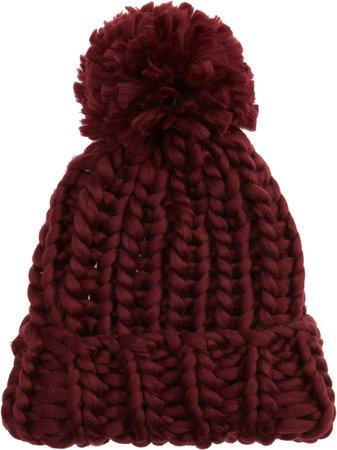 Selina Chunky Hand Knit Beanie
