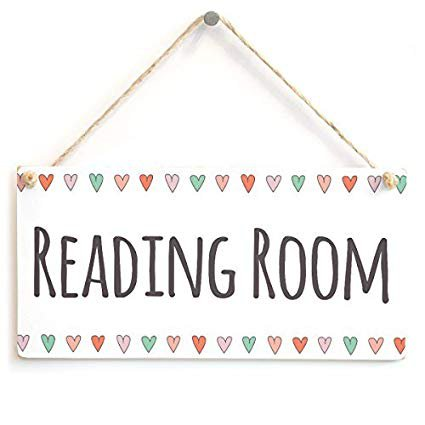 reading decor signs - Google Search
