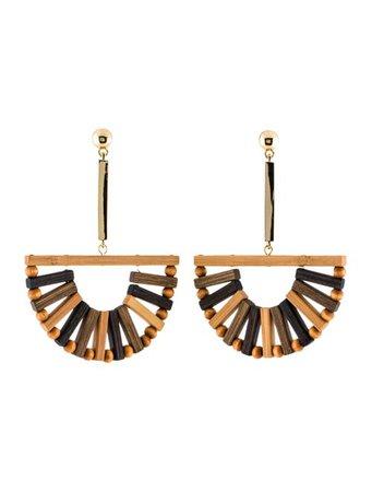 Cult Gaia Ark Earrings - Earrings - WGAIA20810   The RealReal