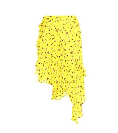 Edith printed midi skirt
