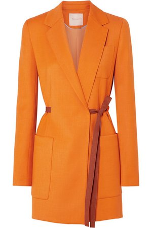 Roksanda | Belted grain de poudre blazer | NET-A-PORTER.COM